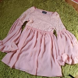 Basically Me Baby doll lace and ruffles dress